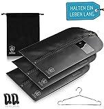 3 x Kleidersack Anzug + Bonus Schuhbeutel - Kleiderhülle...