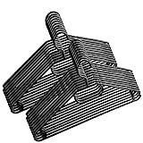 Centi 50 Stück - Kleiderbügel Kunststoff drehbarer Haken -...