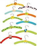 kleine und bunte Kleiderbügel für Kinder